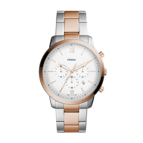 Fossil Neutra Chronograph Two-Tone Stainless Steel Watch FS5475
