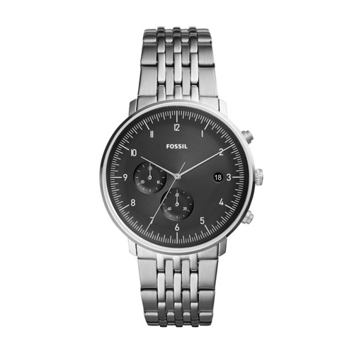 fossil Chase Timer Chronograph Stainless Steel Watch FS5489