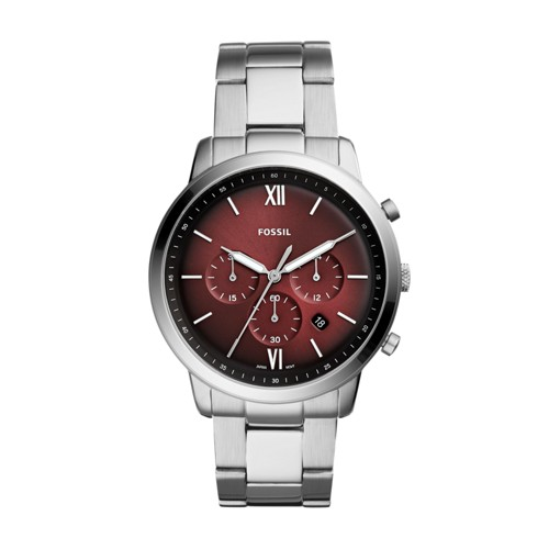 fossil Neutra Chronograph Stainless Steel Watch FS5491