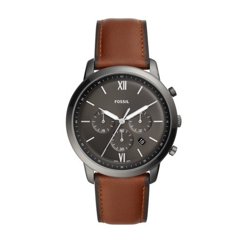 fossil Neutra Chronograph Amber Leather Watch FS5512
