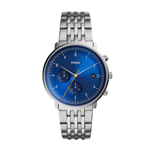 fossil Chase Timer Chronograph Stainless Steel Watch FS5542