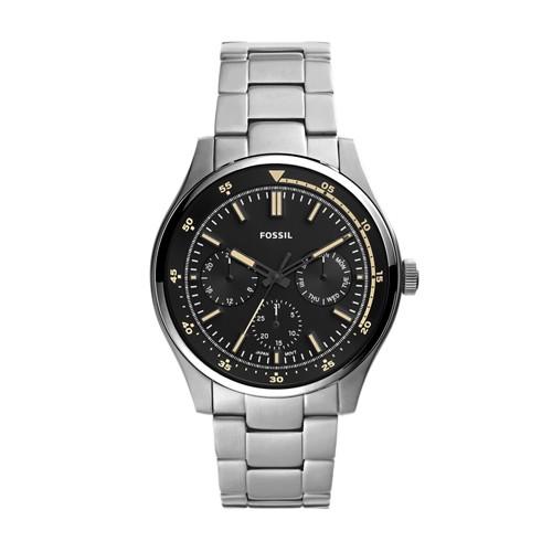fossil Belmar Multifunction Stainless Steel Watch FS5575