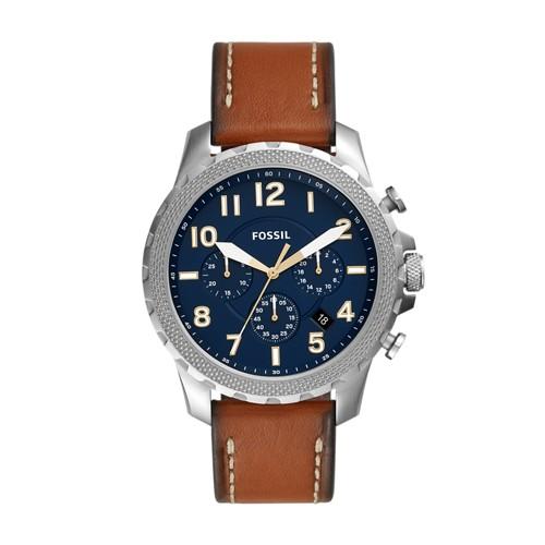 Bowman Chronograph Luggage Leather Watch FS5602