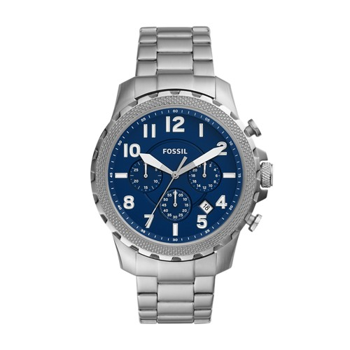 fossil Bowman Chronograph Stainless Steel Watch FS5604