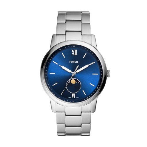 The Minimalist Moonphase Multifunction Stainless Steel Watch FS5618