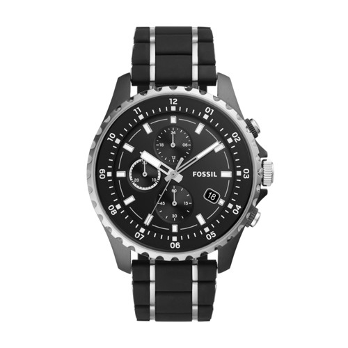 Dillinger Chronograph Two-Tone Stainless Steel and Silicone Watch FS5672