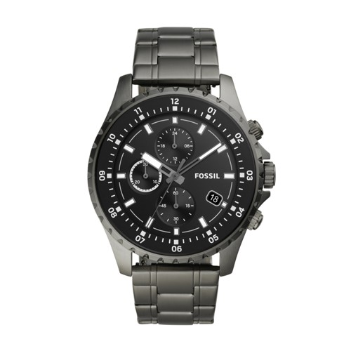 Dillinger Chronograph Smoke Stainless Steel Watch FS5673