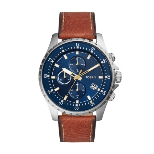 Dillinger Chronograph Luggage Leather Watch FS5675
