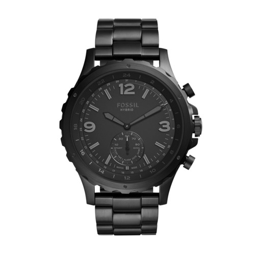 Hybrid Smartwatch - Nate Black Stainless Steel FTW1115