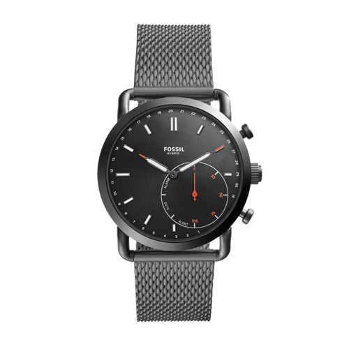 Hybrid Smartwatch - Commuter Smoke Stainless Steel FTW1161