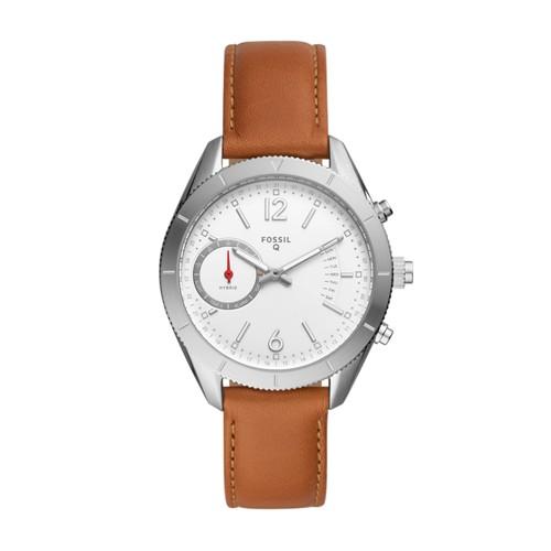 Fossil Hybrid Smartwatch - Q Alyx Brown Leather Ftw1169