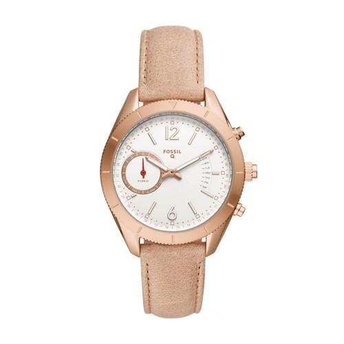 Fossil Hybrid Smartwatch - Q Alyx Brown Leather Ftw1170