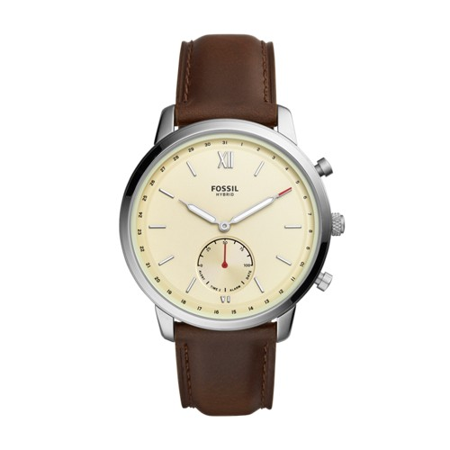 fossil Hybrid Smartwatch - Neutra Brown Leather FTW1177