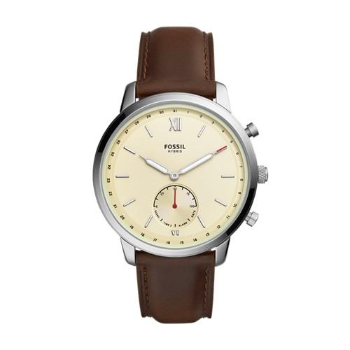 Fossil Hybrid Smartwatch - Neutra Brown Leather  jewelry