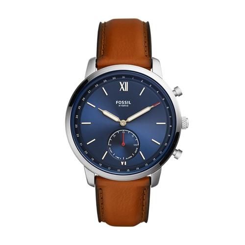 Fossil Hybrid Smartwatch - Neutra Luggage Leather  jewelry