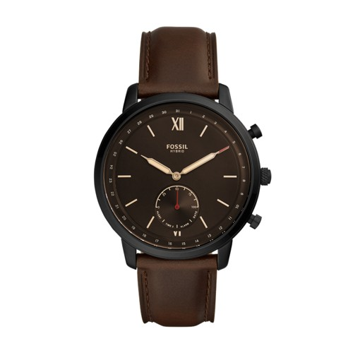 fossil Hybrid Smartwatch - Neutra Whiskey Leather FTW1179
