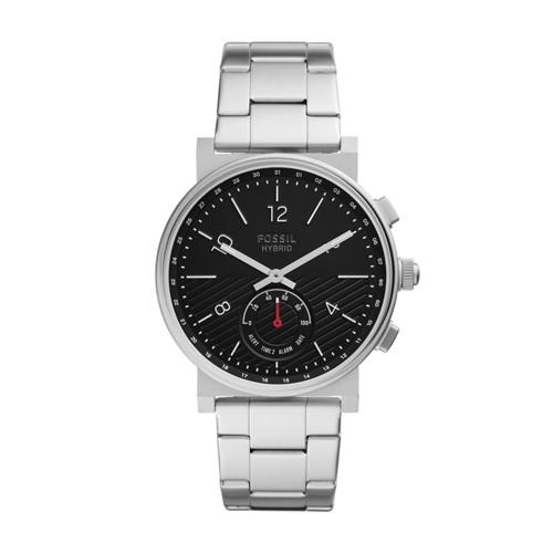 fossil Hybrid Smartwatch - Barstow Stainless Steel FTW1188