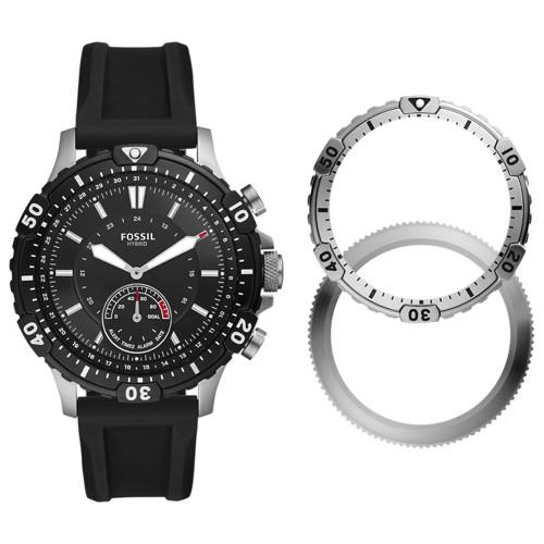 Hybrid Smartwatch Garrett Black Silicone FTW1190SET