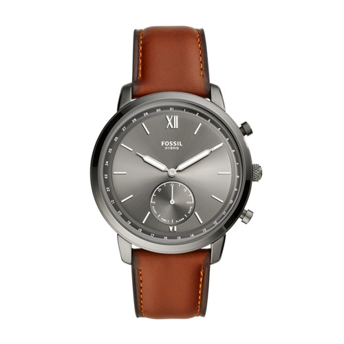 Fossil Hybrid Smartwatch Neutra Amber Leather  jewelry