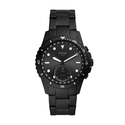 Hybrid Smartwatch FB-01 Black Stainless Steel FTW1196