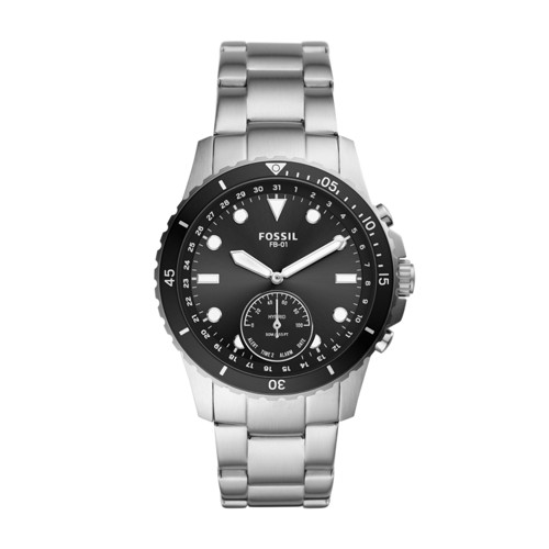 Fossil Hybrid Smartwatch Fb-01 Stainless Steel  jewelry