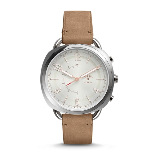Fossil REFURBISHED Hybrid Smartwatch - Accomplice Sand Leather FTW1200J