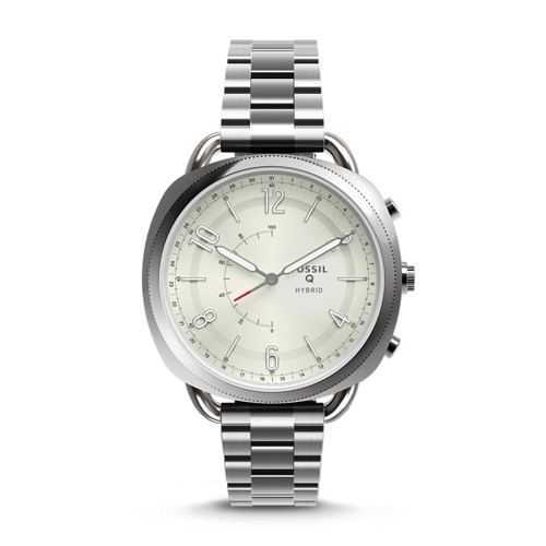 Fossil REFURBISHED Hybrid Smartwatch - Q Accomplice Stainless Steel FTW1202J