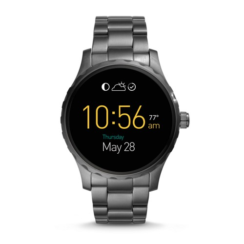 Fossil REFURBISHED Gen 2 Smartwatch - Q Marshal Smoke Stainless Steel FTW2108J