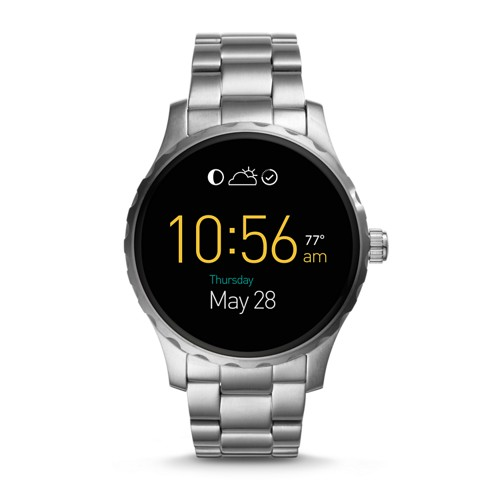 Fossil REFURBISHED Gen 2 Smartwatch - Q Marshal Stainless Steel FTW2109J