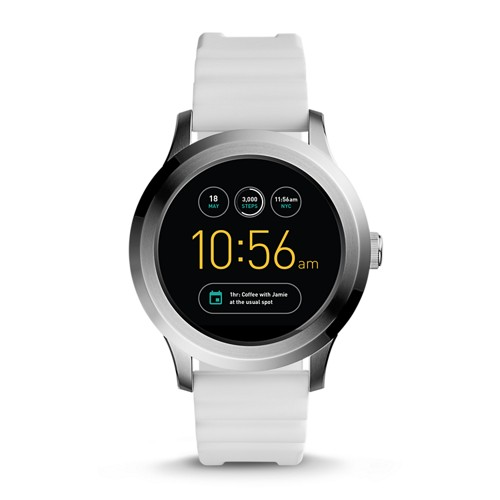 Fossil REFURBISHED Gen 2 Smartwatch - Q Founder White Silicone FTW2115J