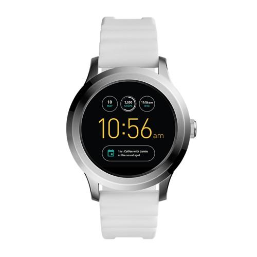 Fossil Gen 2 Smartwatch - Q Founder White Silicone Ftw2115