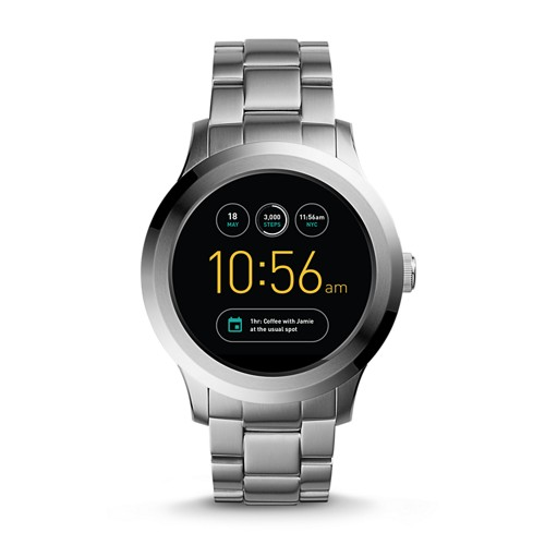 Fossil REFURBISHED Gen 2 Smartwatch - Q Founder Stainless Steel FTW2116J