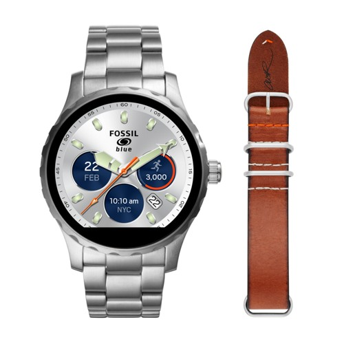 Fossil Gen 2 Smartwatch - Limited Edition Fossil Q X Cory Richards Set Ftw2120set