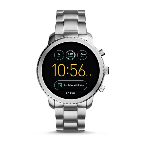 Fossil REFURBISHED Gen 3 Smartwatch - Q Explorist Stainless Steel FTW4000J
