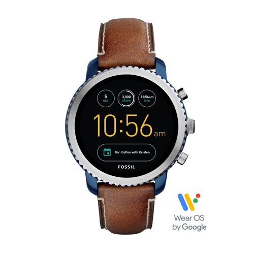 Fossil Gen 3 Smartwatch - Explorist Luggage Leather FTW4004