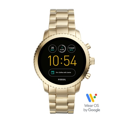 Fossil Gen 3 Smartwatch - Q Explorist Gold-Tone Stainless Steel FTW4010