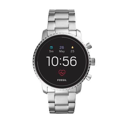 fossil REFURBISHED - Gen 4 Smartwatch - Explorist HR Stainless Steel FTW4011J
