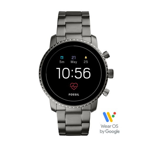 Gen 4 Smartwatch - Explorist HR Smoke Stainless Steel FTW4012