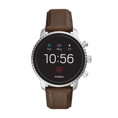 REFURBISHED - Gen 4 Smartwatch - Explorist HR Brown Leather FTW4015J