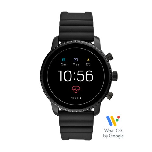 Gen 4 Smartwatch - Explorist HR Black Silicone FTW4018