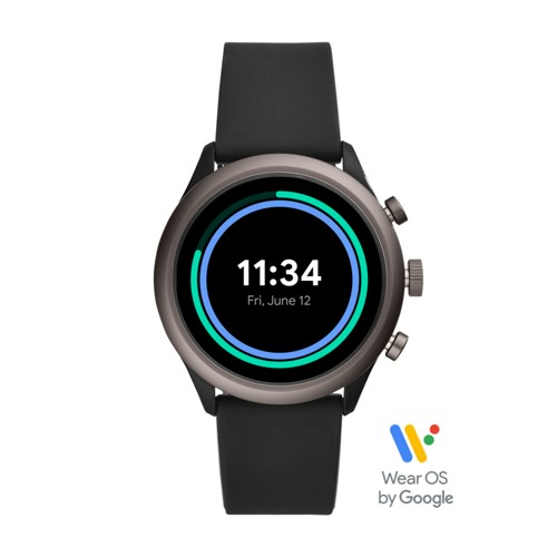 Sport Smartwatch - 43mm Black Silicone FTW4019