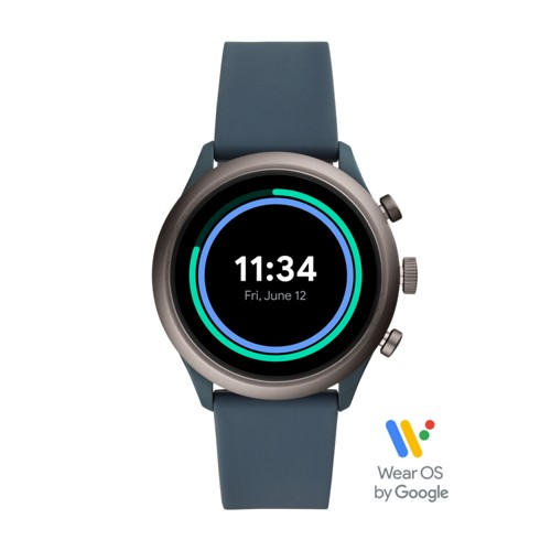 Sport Smartwatch - 43mm Smokey Blue Silicone FTW4021