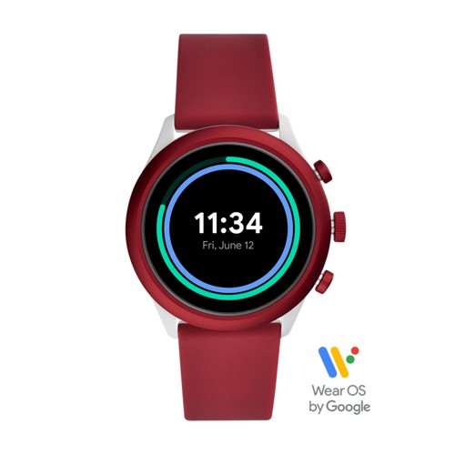 Sport Smartwatch 43mm Red Silicone FTW4033