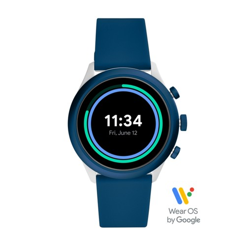 Sport Smartwatch 43mm Blue Silicone FTW4036