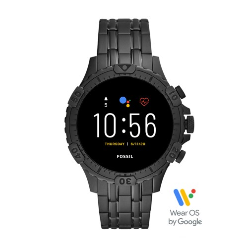 Gen 5 Smartwatch Garrett HR Black Stainless Steel FTW4038