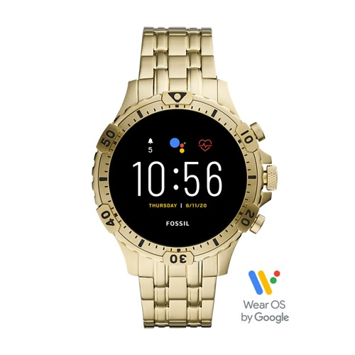 Gen 5 Smartwatch Garrett HR Gold-Tone Stainless Steel FTW4039