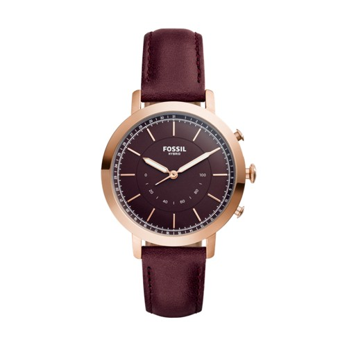 Fossil Hybrid Smartwatch - Neely Cabernet Leather FTW5003