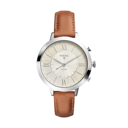 Hybrid Smartwatch - Jacqueline Luggage Leather FTW5012