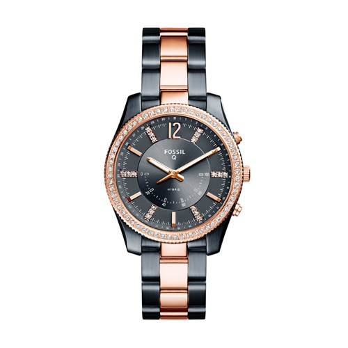 Fossil REFURBISHED Hybrid Smartwatch - Q Scarlette Two-Tone Stainless Steel FTW5017J