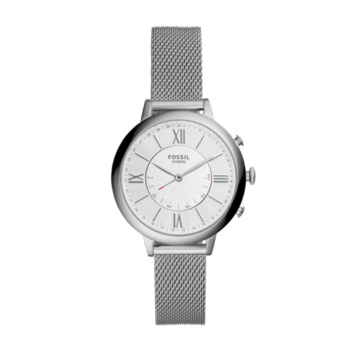 Fossil Hybrid Smartwatch - Jacqueline Stainless Steel  Jewelry